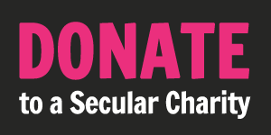 Donate to a Secular Charity