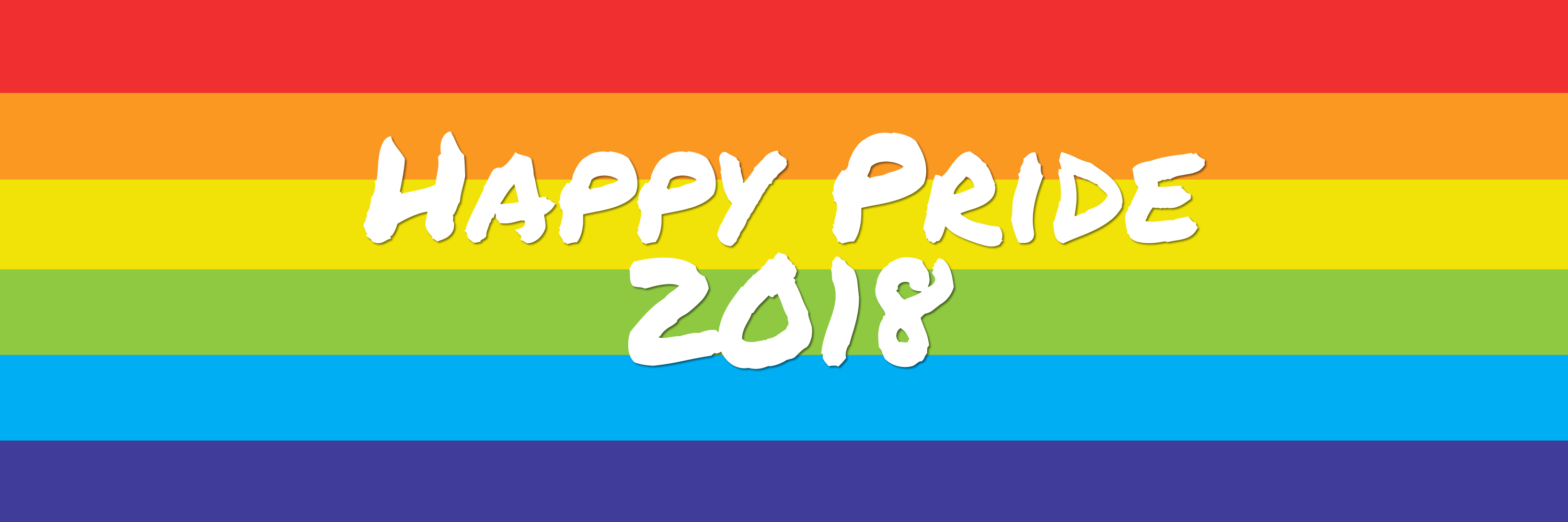 Happy Pride 2018 Twitter Background
